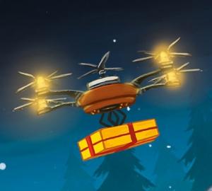 Weihnachtsdrohne in Aktuell
